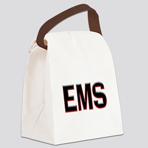 EMS RED Canvas Lunch Bag