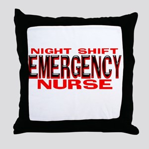 NS EMERGENCY NURSE Throw Pillow