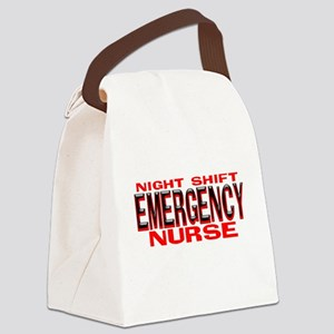 NS EMERGENCY NURSE Canvas Lunch Bag