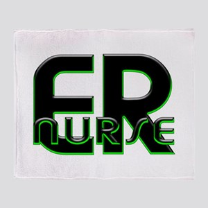 EMERGENCY NURSE 3 Throw Blanket