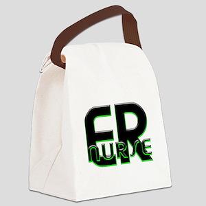 EMERGENCY NURSE 3 Canvas Lunch Bag