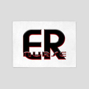 EMERGENCY NURSE 2 5'x7'Area Rug