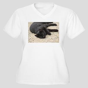 cat Plus Size T-Shirt