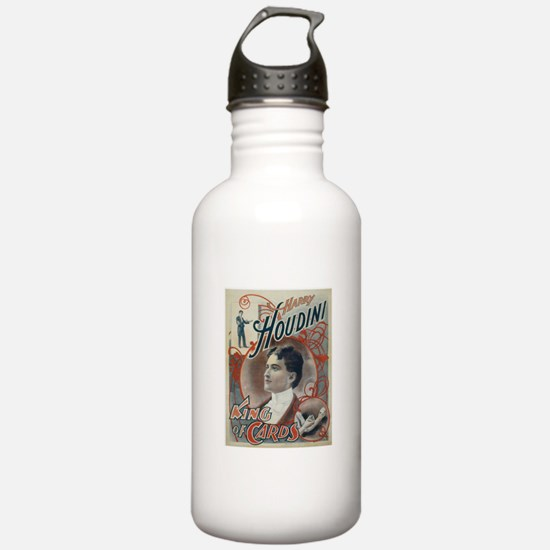 Houdini King of Cards Water Bottle