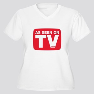 As Seen On TV Plus Size T-Shirt
