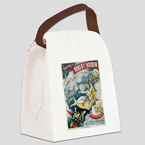 Illusion Fantastique Moon Canvas Lunch Bag