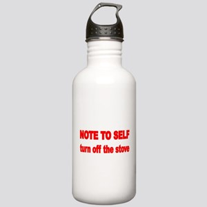 NOTE TO SELF Water Bottle