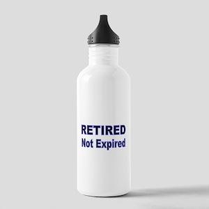 RETIRED NOT EXPIRED Water Bottle