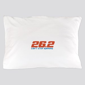 26.2 Can't Stop Running Pillow Case