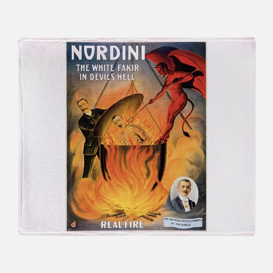 Nordini Devil's Hell Magic Throw Blanket