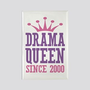 Drama Queen Since 2000 Rectangle Magnet