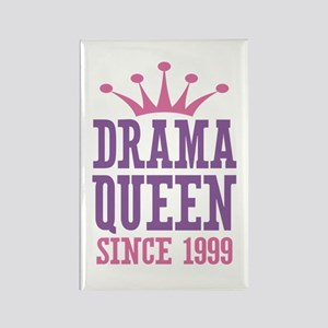 Drama Queen Since 1999 Rectangle Magnet
