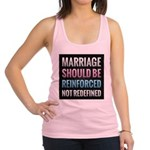 Marriage Should Be Reinforced Racerback Tank Top