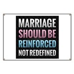 Marriage Should Be Reinforced Banner