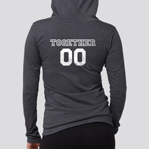 Couples Together Personalized Womens Hooded Shirt