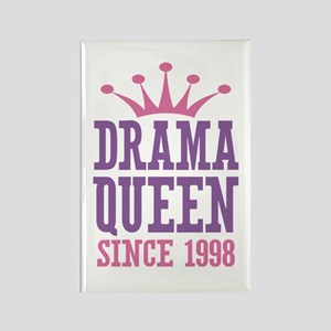 Drama Queen Since 1998 Rectangle Magnet