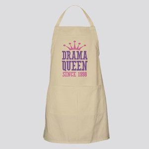 Drama Queen Since 1998 Apron