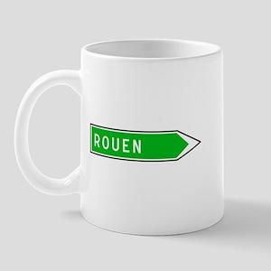 Roadmarker Rouen - France Mug