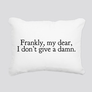 Gone with the Wind Rectangular Canvas Pillow
