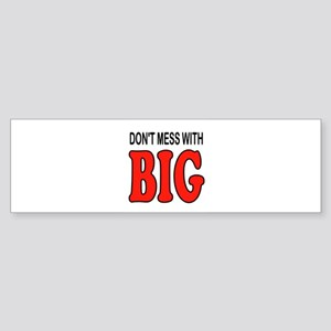 BIG Bumper Sticker