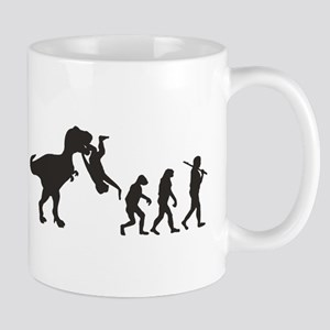 Man Evolution Mugs