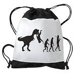 Man Evolution Drawstring Bag