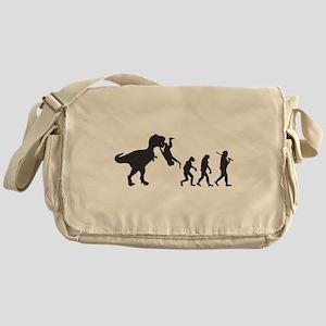 Man Evolution Messenger Bag