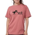 Man Evolution Womens Comfort Colors Shirt
