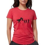 Man Evolution Womens Tri-blend T-Shirt