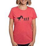 Man Evolution Womens Tri-blend T-Shirt