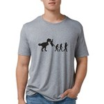 Man Evolution Mens Tri-blend T-Shirt