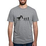 Man Evolution Mens Tri-blend T-Shirt