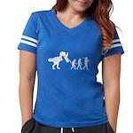 Man Evolution Womens Football Shirt
