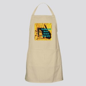 Not Man But Fly Apron