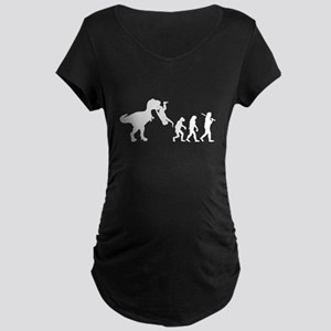 Man Evolution Maternity T-Shirt