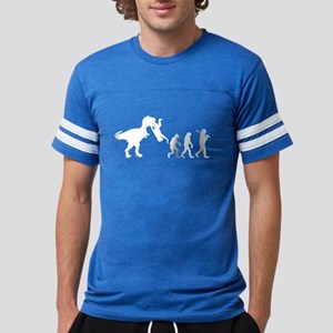 Man Evolution Mens Football Shirt