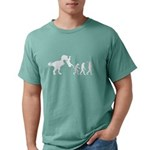 Man Evolution Mens Comfort Colors Shirt