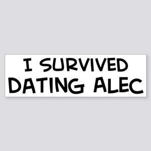 Survived Dating Alec Bumper Sticker