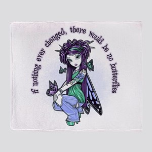 IF NOTHING EVER CHANGED Throw Blanket