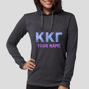 Kappa Gamma Floral Womens Hooded Shirt