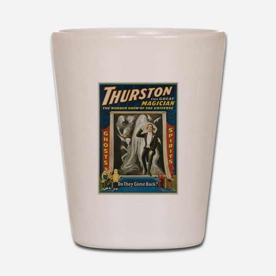 Thurston Great Magician Shot Glass