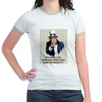 Debt 2 Society Jr. Ringer T-Shirt