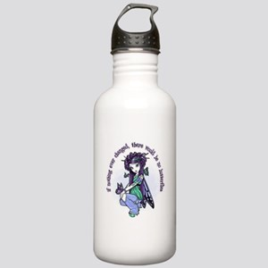 IF NOTHING EVER CHANGED Water Bottle