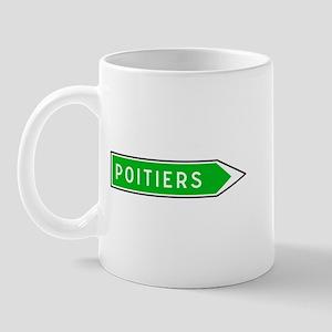 Roadmarker Poitiers - France Mug