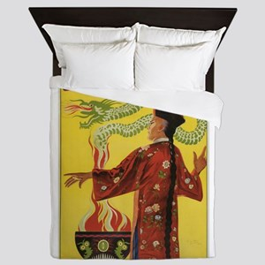 Fu Manchu Chinese Magic Queen Duvet