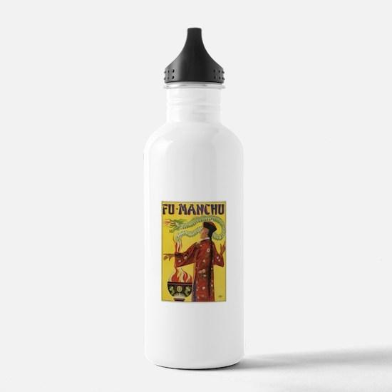 Fu Manchu Chinese Magic Water Bottle