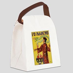 Fu Manchu Chinese Magic Canvas Lunch Bag