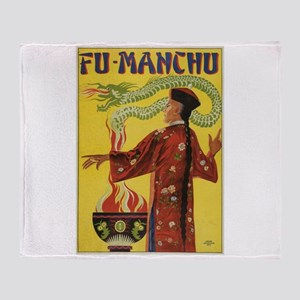 Fu Manchu Chinese Magic Throw Blanket