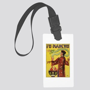 Fu Manchu Chinese Magic Large Luggage Tag