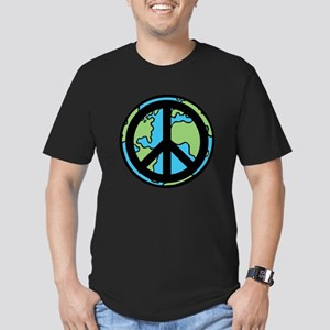 Peace on Earth in Black T-Shirt